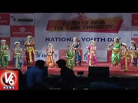 Swamy Vivekananda Jayanti Celebrations In Ravindra Bharathi   National Youth Day   V6 News