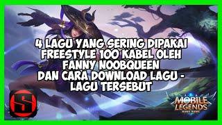 Download 4 Lagu Fanny Freestyle NoobQueen + Tutorial Cara Download Lagunya!