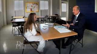 dr phil urges prisoner erin caffey to tell the truth