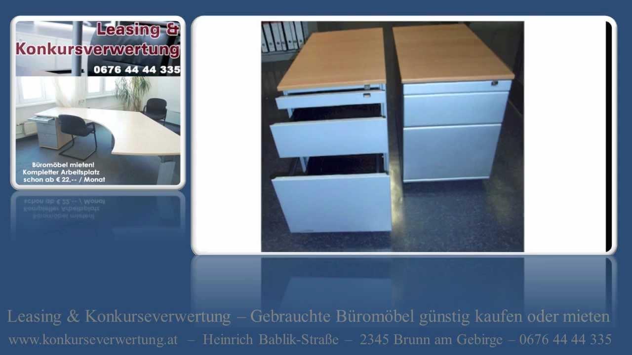 Gebrauchte Rollcontainer Wien Schreibtisch Büro Rollcontainer Wien