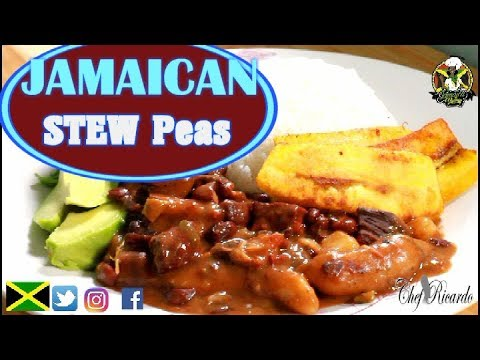 Jamaica Stew Peas HOW TO MAKE PIGTAIL STEW PEAS