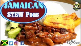 How To Make Pigtail Stew Peas (Jamaica) | Recipes By Chef Ricardo