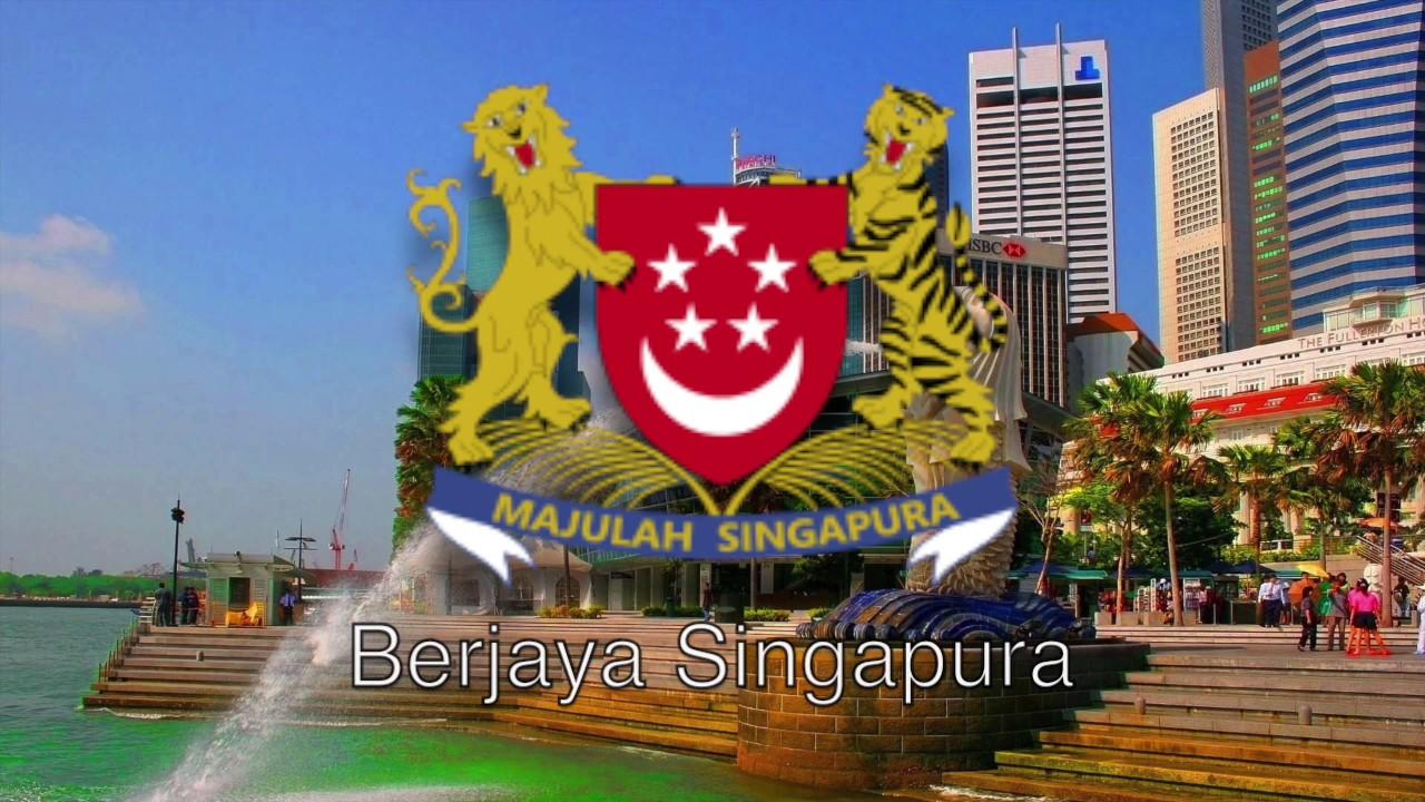 National Anthem Of Singapore Majulah Singapura Youtube