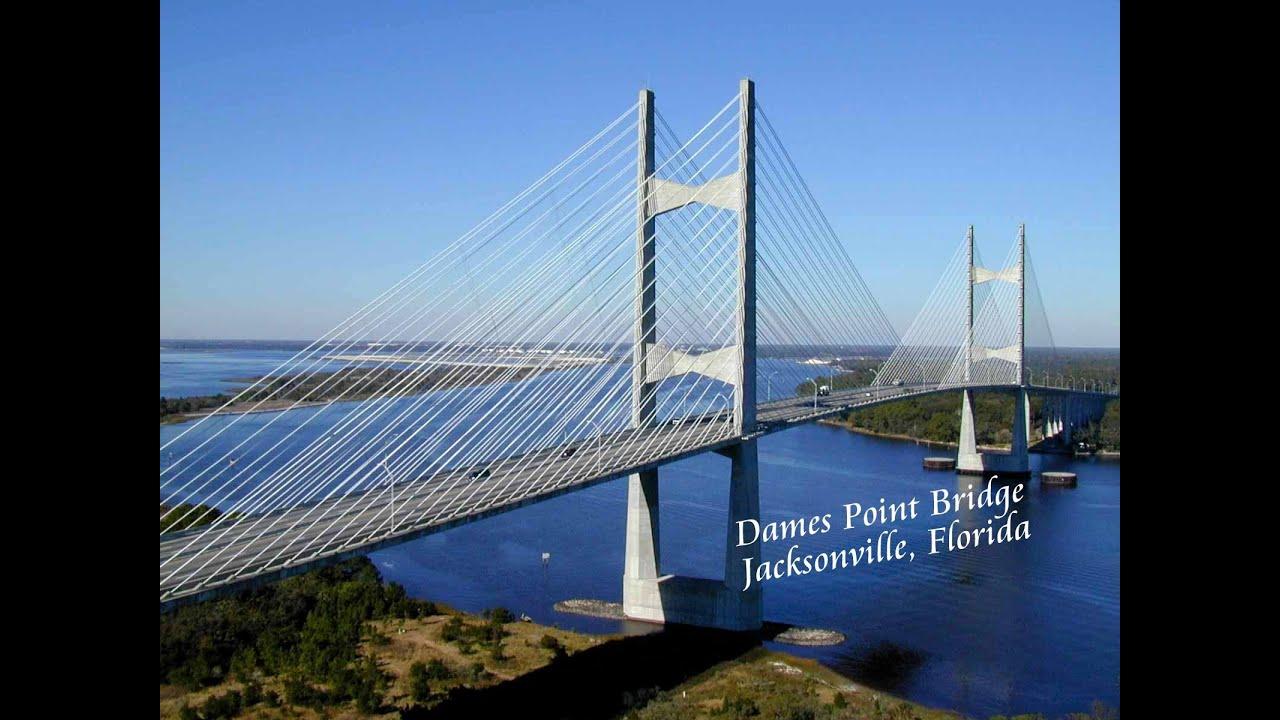 Dames Point Bridge I 295 East Beltway Jacksonville Fl