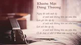 Khuôn Mặt Đáng Thương - Sơn Tùng M-TP (Guitar Beat Karaoke Acoustic)