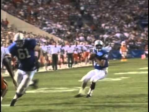 BYU Football vs. Miami - Ty Detmer TD