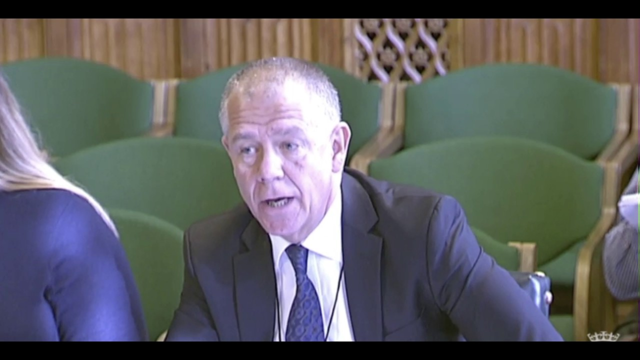 The world of casual work - GMB's Tim Roache gives evidence to BEIS Committee