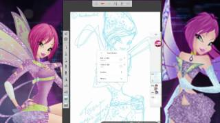 How to draw Tecna Magic Winx Fairy Couture! HD drawing Tutorial!