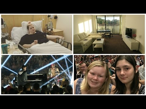 Extra long hospital stay (and Twenty-One Pilots Concert) -  Vlog : 31st March   5th April, 2017