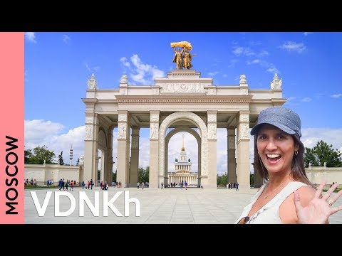 VDNKh: a fantastic Moscow park only locals know | Russia 2018 vlog
