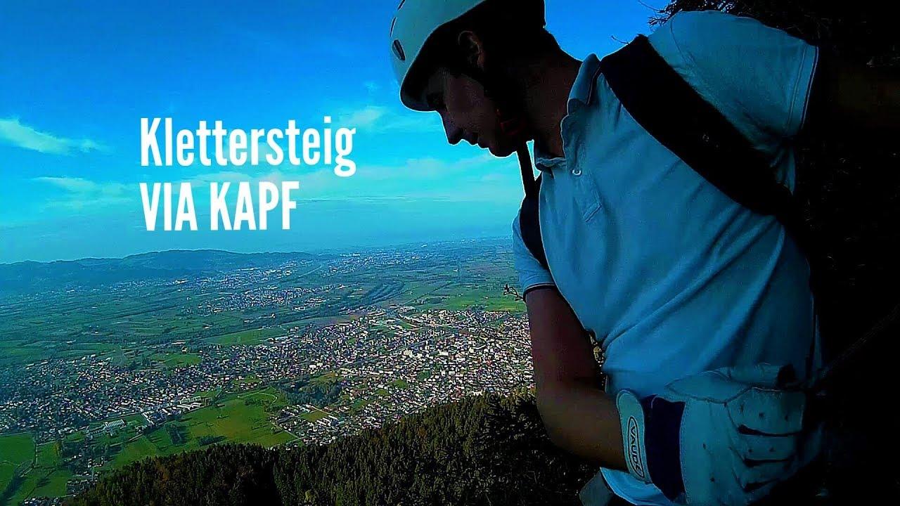 Via Kessi Klettersteig : Via kapf klettersteig götzis apeman a testvideo youtube