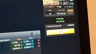 Bitcoin Cash CFD trading profit $180k in 2 weeks