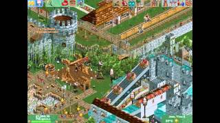 RollerCoaster Tycoon 2 Time Twister PC 2003 Gameplay