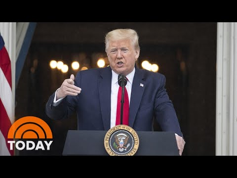President Trump Plans Memorial Day Appearances Despite Restrictions   TODAY