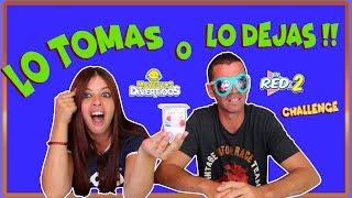 LO TOMAS O LO DEJAS SLIME con BEGO de Momentos Divertidos Take it or leave it Enreda2