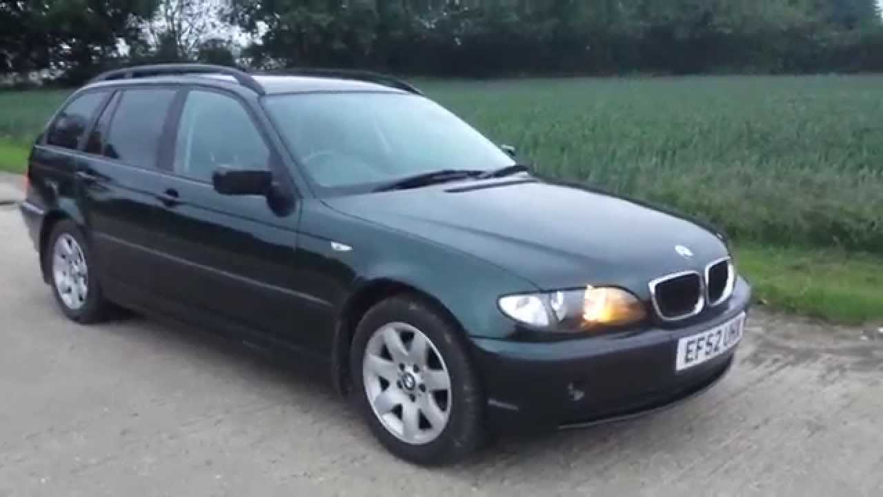 2002 bmw e46 316 touring estate wagon video review youtube. Black Bedroom Furniture Sets. Home Design Ideas