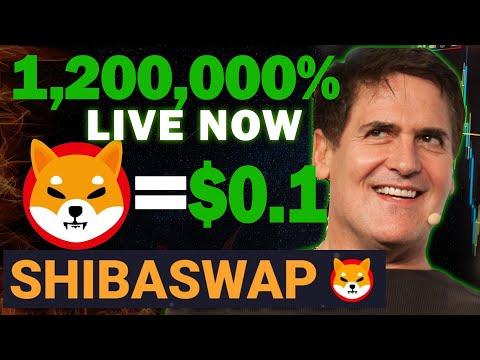 ShibaSwap Revealed Shiba Inu Coin will hit $0.1 Soon!