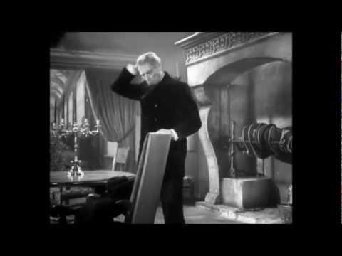 """Louis Jouvet dans """"Copie conforme"""" (de Jean Dréville, 1947)"""