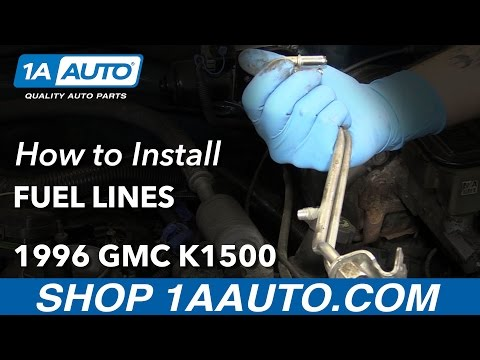 How to Replace Fuel Lines 88-98 GMC K1500