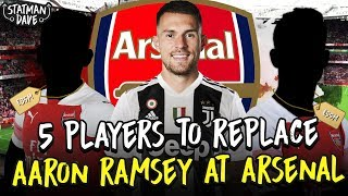5 Players To Replace Aaron Ramsey at Arsenal…