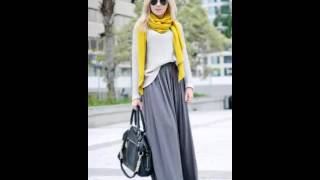 Download Stylish And Comfy Winter Maxi Skirt Outfits Mp3 and Videos