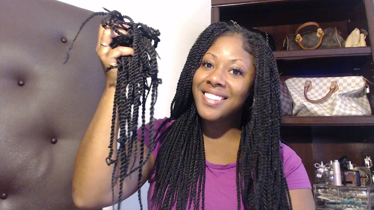DIY How To Take Out Remove Crochet Braiding Hair Uninstall