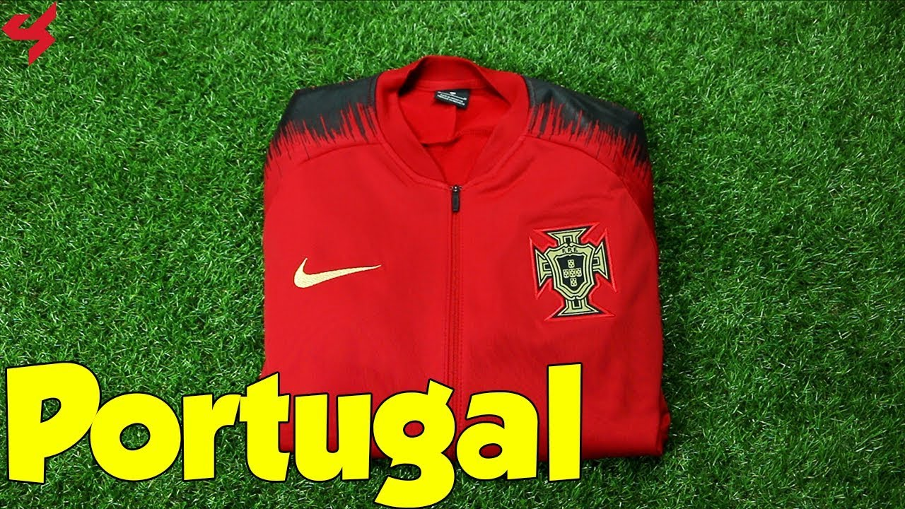 World Cup 2018 Nike Portugal Anthem Jacket Unboxing + Review - YouTube de032daca