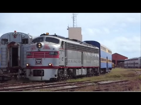 """Gold Coast Railroad Museum """"Chicago Burlington & Quincy E9"""" Miami,Fl."""