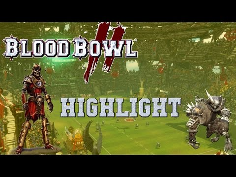 7+ passing? Easy! Blood Bowl 2 Highlight (the Sage)  