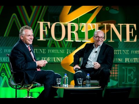Virginia's Governor Terry McAuliffe talks clean power | Fortune