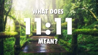 What Does 1111 Mean