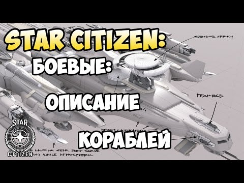 Star Citizen: Боевые: Описание кораблей