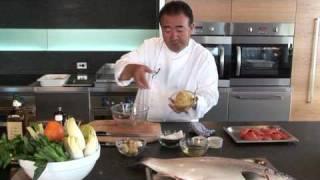Tetsuya Wakuda's Recipe for Tasmanian Atlantic Salmon.