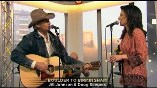 "Doug & Jill singing ""Boulder To Birmingham"" on Nyhetsmorgon"
