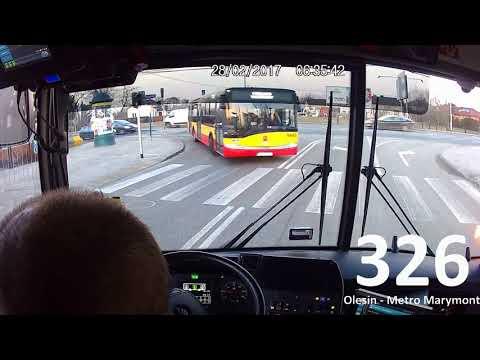 ZTM Warszawa linia 326 Olesin - Metro Marymont