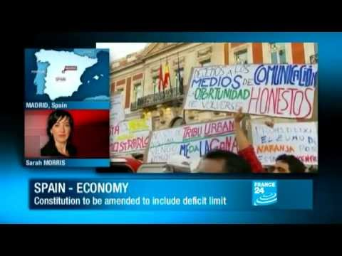 Spain - Economy: Constitution to be amended to include deficit limit