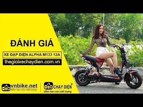 Đánh giá xe đạp điện Alpha M133 12A