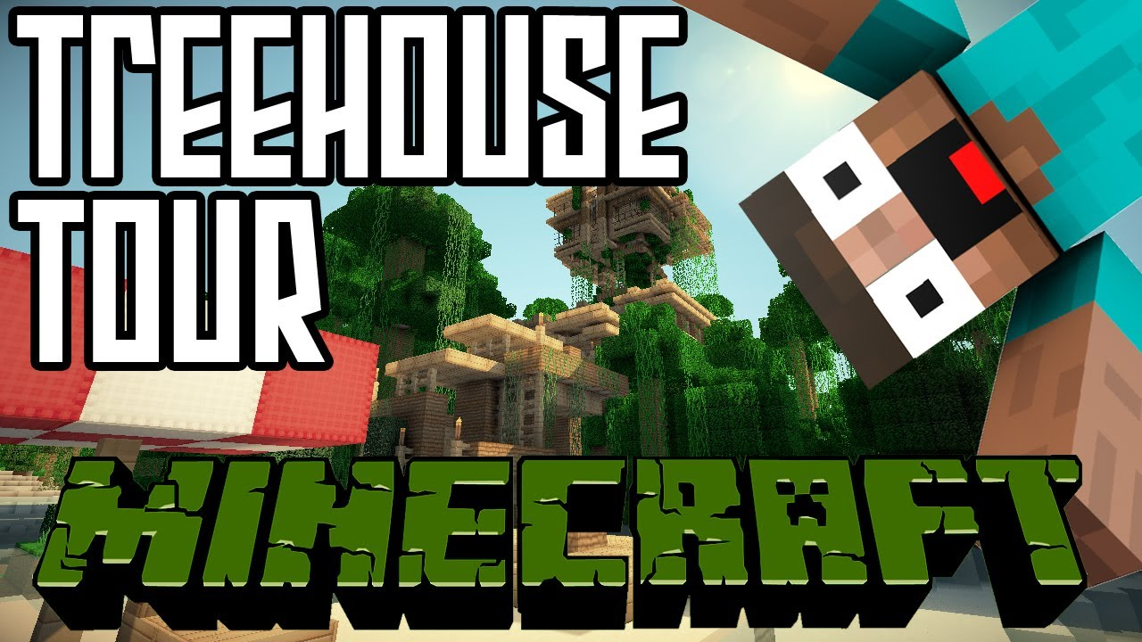 Minecraft jungle treehouse tour hd world save download youtube gumiabroncs Gallery