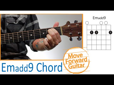Guitar Chords for Beginners - Emadd9