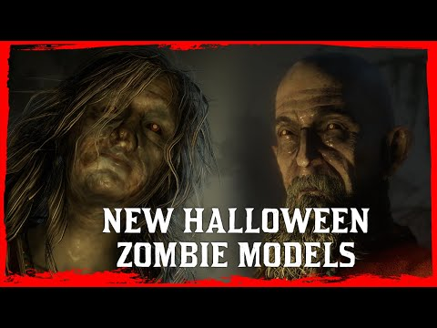 """Red Dead Online 50 new """"Army Of Fear"""" Zombie Models Found! - Possible new Halloween mode?"""