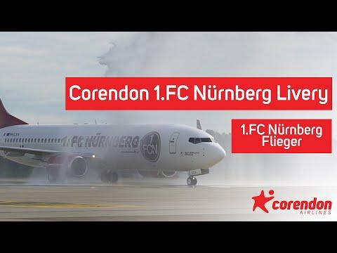 Corendon 1.FC Nürnberg Livery (1.FC Nürnberg Flieger)