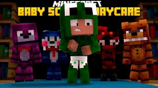 Minecraft -BABY SCHOOL DAYCARE - FREDDY KIDNAPS THE BABIES!