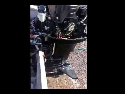 25 hp mercury 2001 outboard motor for sale on ebay youtube for Ebay used outboard motors for sale