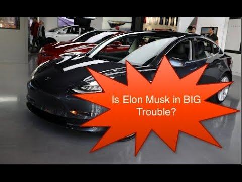 Is Elon Musk In BIG Trouble?