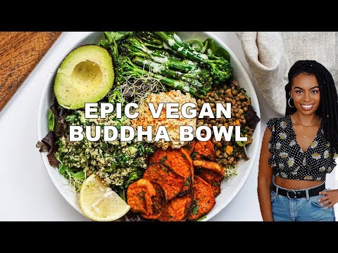 EPIC FLAVOURFUL BUDDHA BOWL {5 easy vegan recipes}