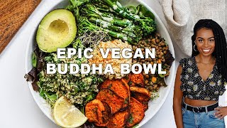 EPIC FLAVOURFUL BUDDHA BOWL {5 easy vegan recipes}