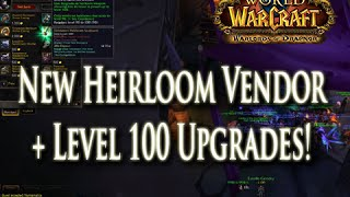 WoD: New Level 100 Heirlooms & Their Vendor Location!