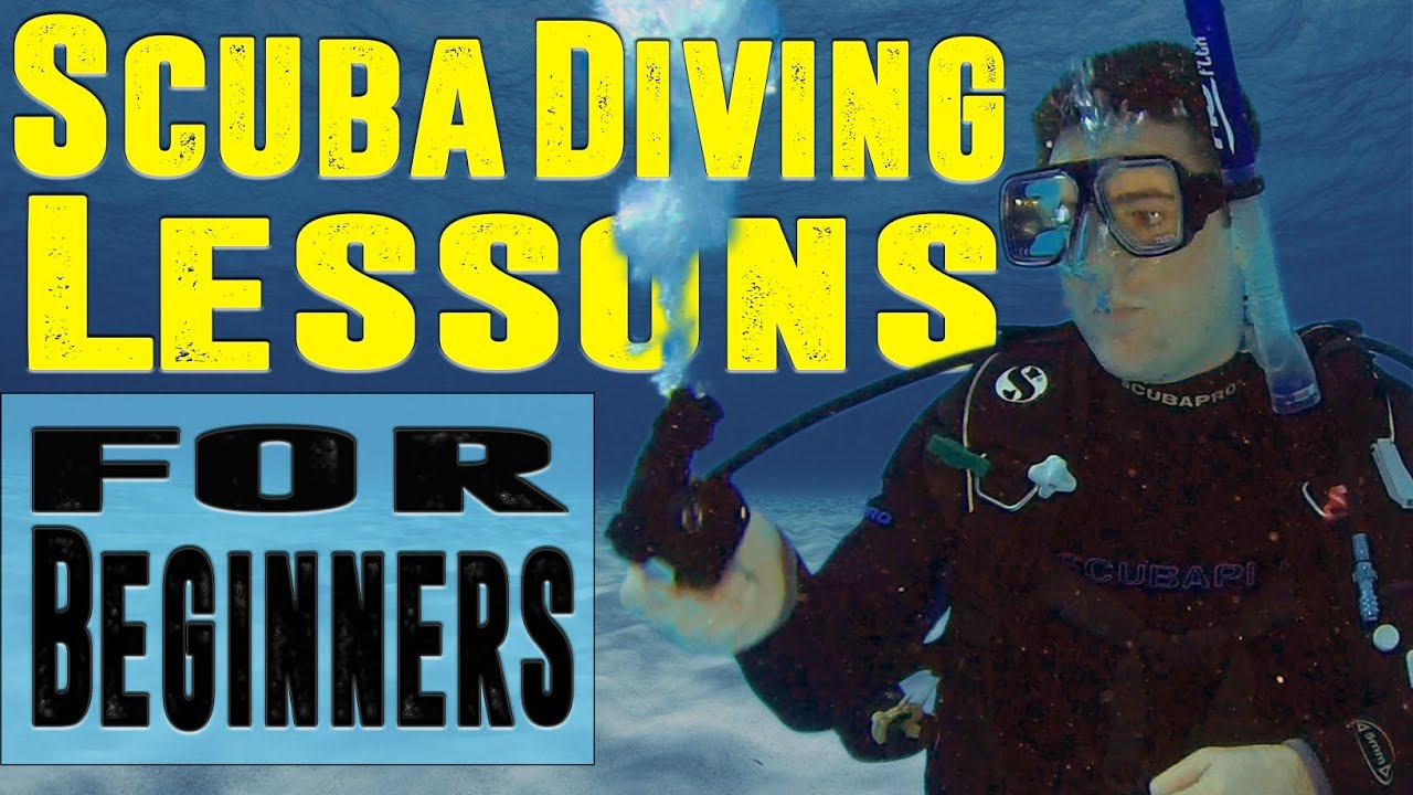Scuba Diving Lessons for Beginners - YouTube
