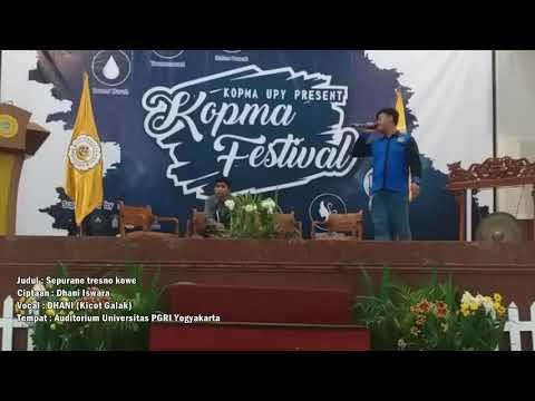 DHANI_KG - Sepurane Tresno Kowe (live @auditorium_upy)