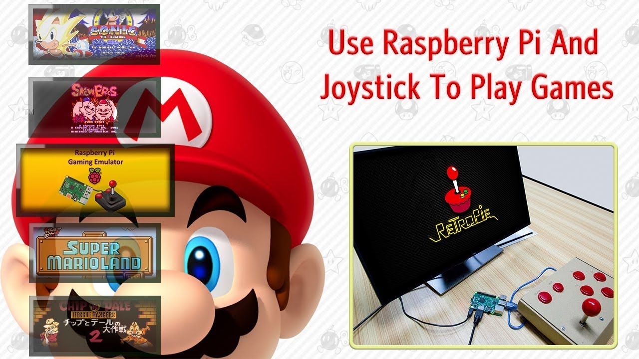 Easily Use Raspberry Pi To Play Games on RetroPie